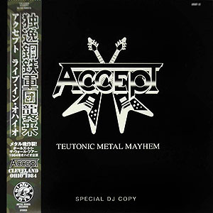 ACCEPT - [white] Teutonic Metal Mayhem