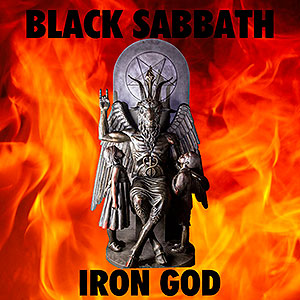 BLACK SABBATH - [red] Iron God
