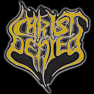 CHRIST DENIED - Logo (yellow)