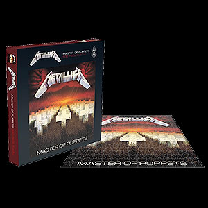 METALLICA - Master of Puppets (puzzle)