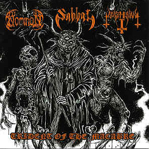 NOMINON/ SABBAT/ BLASPHERIAN - Trident of the Macabre - 3-Way Split CD