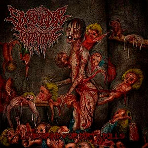 SIXPOUNDER TERATOMA - Love Grind for Dirty Dolls