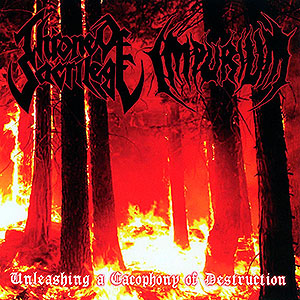 THRONE OF SACRILEGE/IMPURIUM - Split CD
